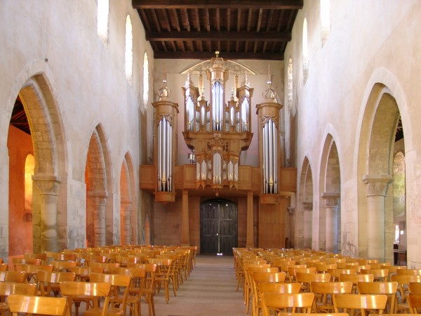 The Nave and the graet Organ